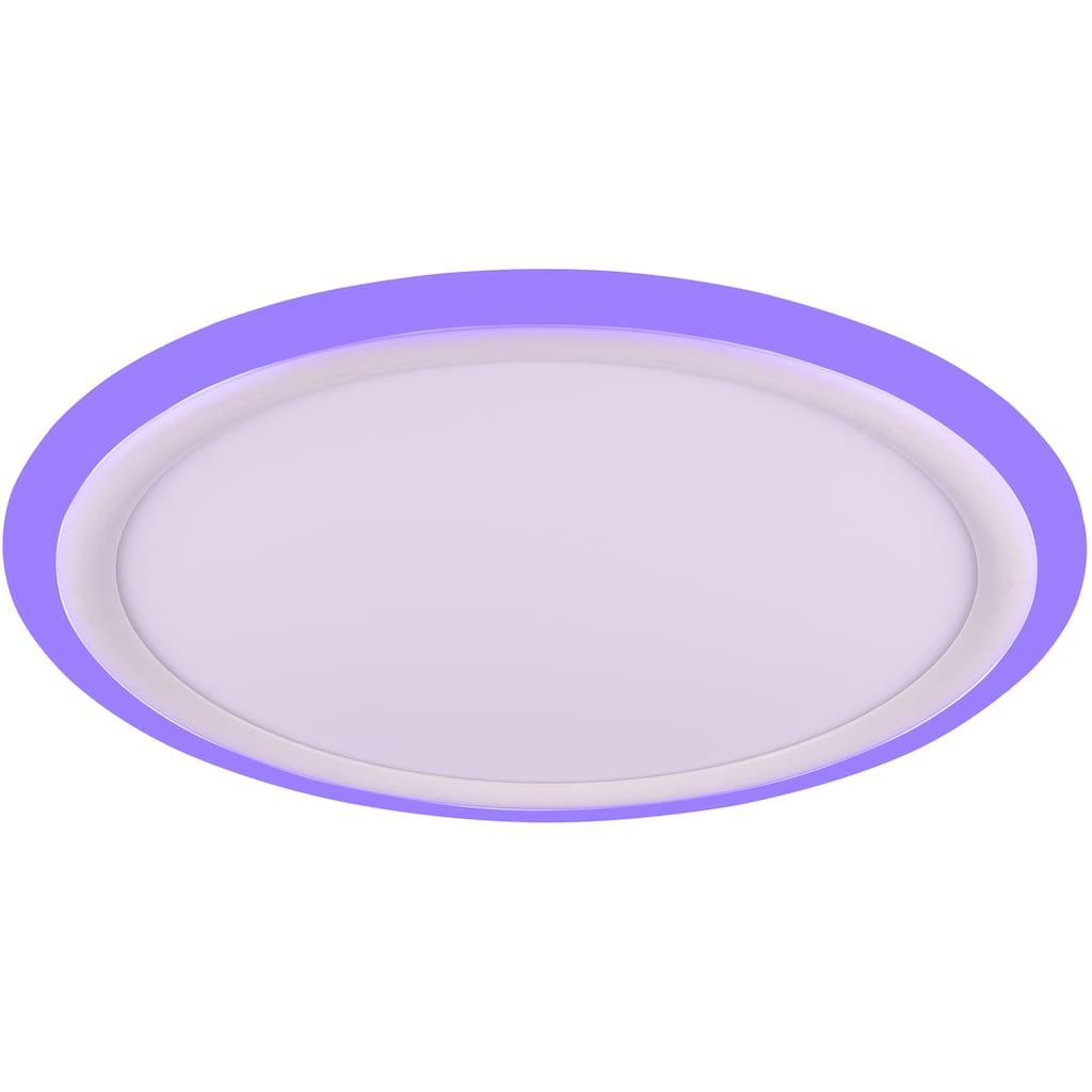 TRIO Leuchten LED Deckenleuchte »Columbia«, LED-Modul, Farbwechsler