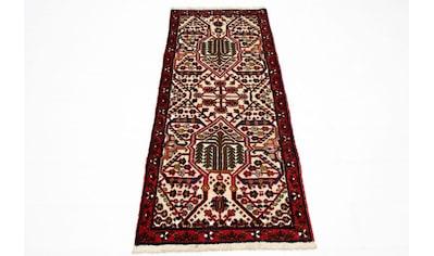 morgenland Wollteppich »Hamadan Teppich handgeknüpft beige«, rechteckig, 8 mm Höhe,... kaufen