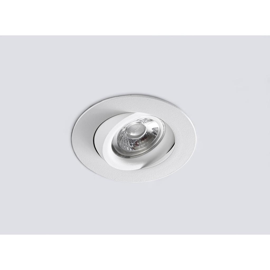 HEITRONIC LED Einbaustrahler »DL6809«, LED-Modul, 1 St., Warmweiß, Dim-to-Warm-Technologie, beim Herunterdimmen wird das Licht wärmer (bis 2000 K)