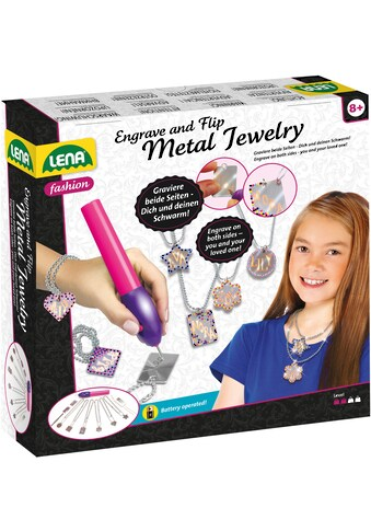 "Lena® Kreativset ""Fashion, Engrave and Flip  -  Metal Jewelry"" kaufen"