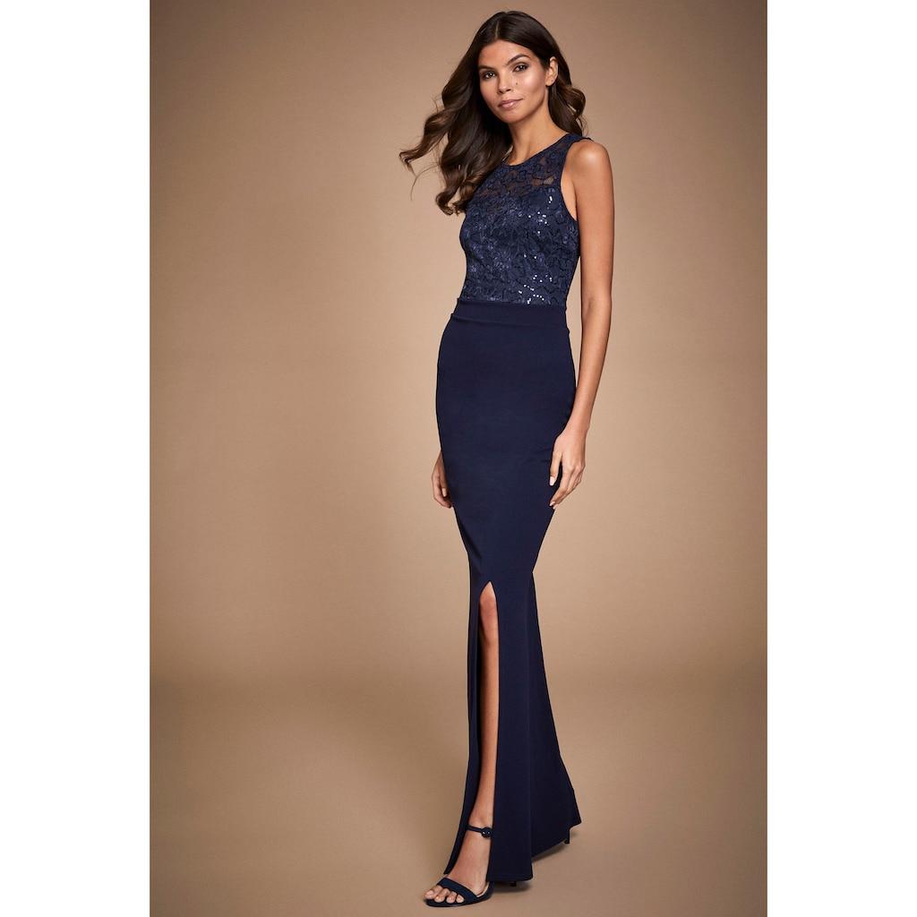 LIPSY Abendkleid, mit Spitze und Pailletten