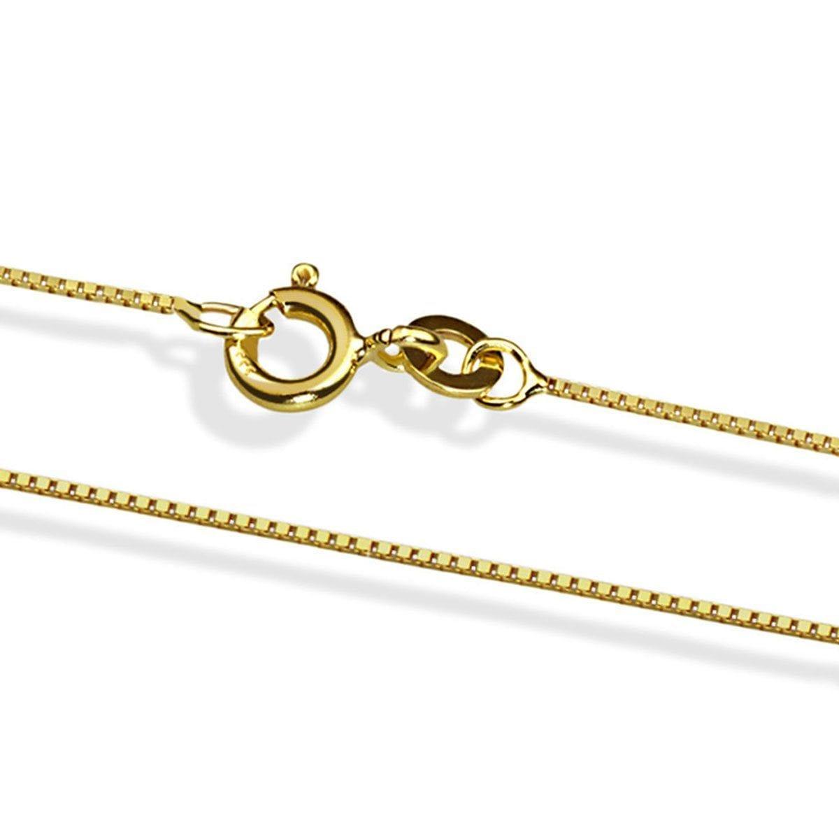 goldmaid Venezianerkette 585/- Gelbgold 45 cm | Schmuck > Halsketten > Goldketten | Goldfarben | Goldmaid