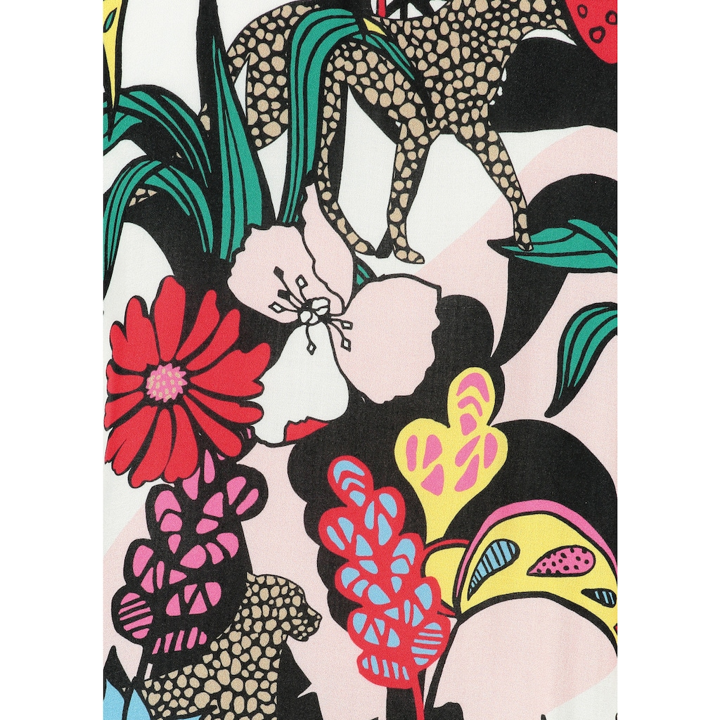 Loom&Lace Kimono mit offener Vorderseite