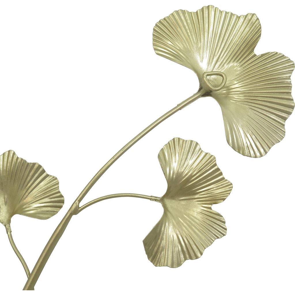 Leonique Wanddekoobjekt, Wanddeko Ginko-Blätter