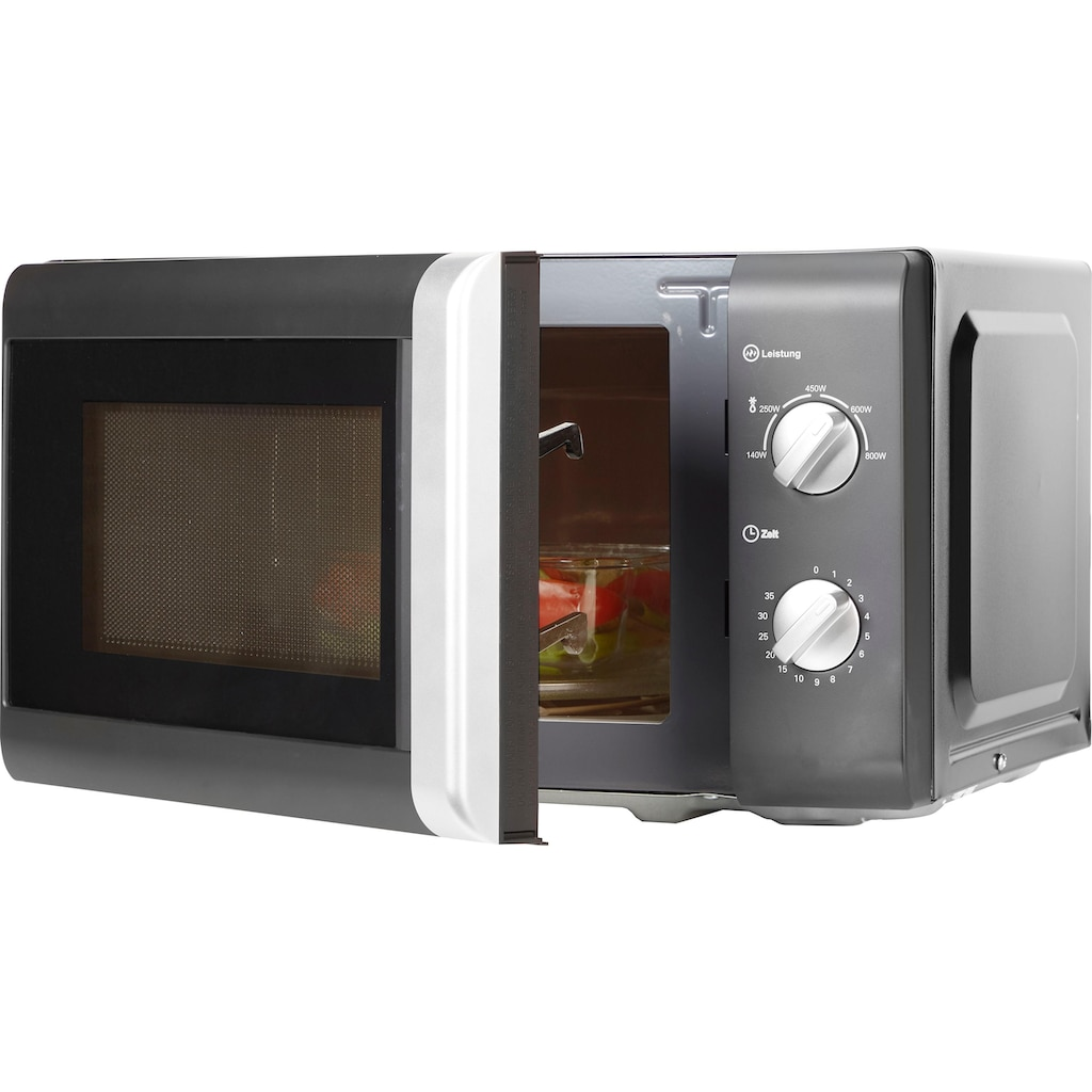 Privileg Mikrowelle »64111926«, Mikrowelle, 800 W, schwarz