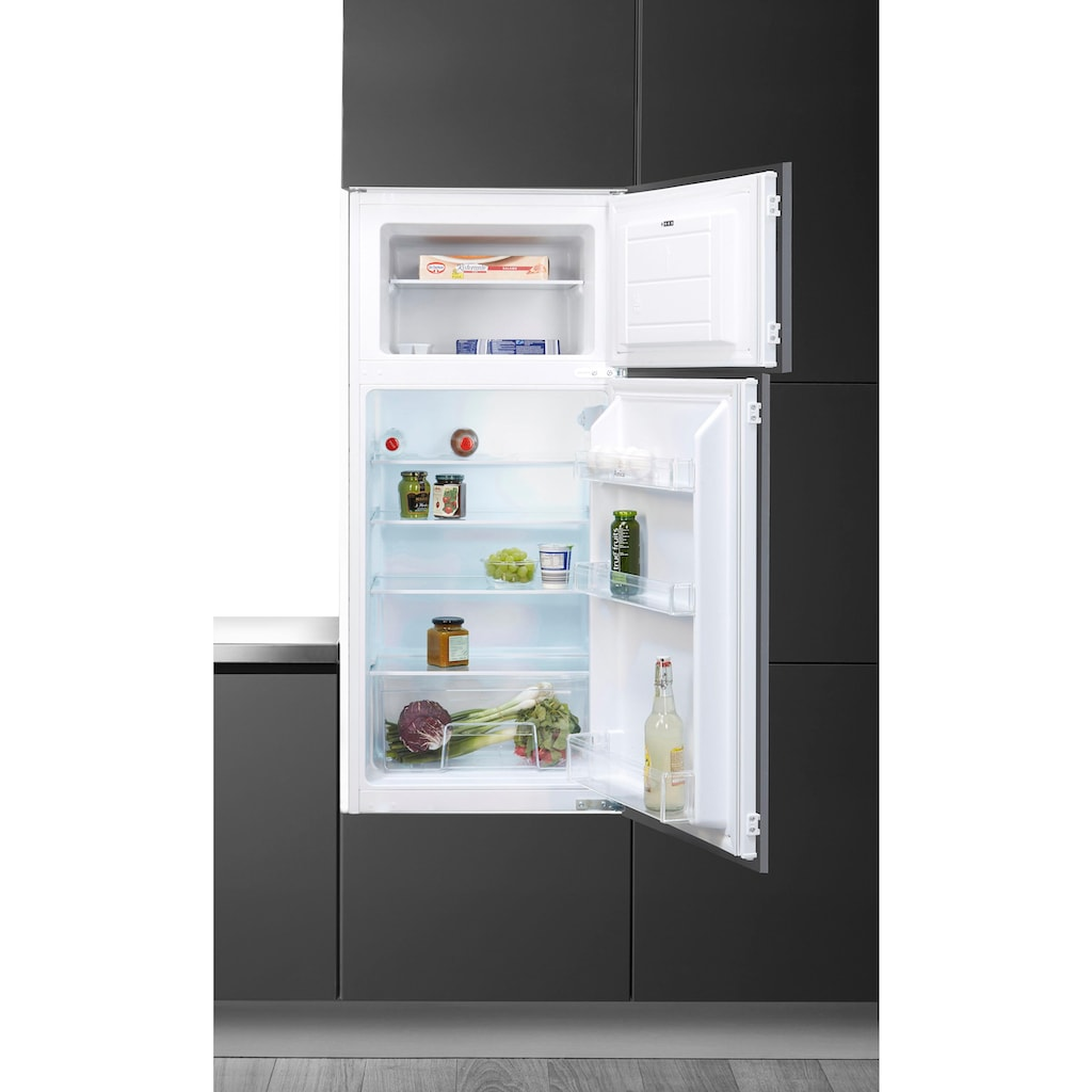 Amica Einbaukühlgefrierkombination, EKGC 16160, 122,1 cm hoch, 54 cm breit, Abtauautomatik