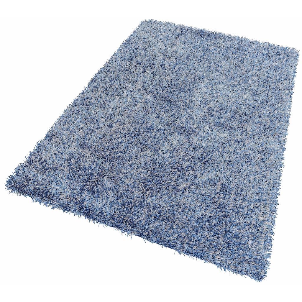 THEKO Hochflor-Teppich »Girly«, rechteckig, 50 mm Höhe, besonders weich durch Microfaser, Wohnzimmer