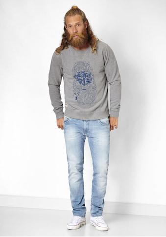 Nagano Sweatshirt mit Stickerei »KADIO MELANGE« kaufen