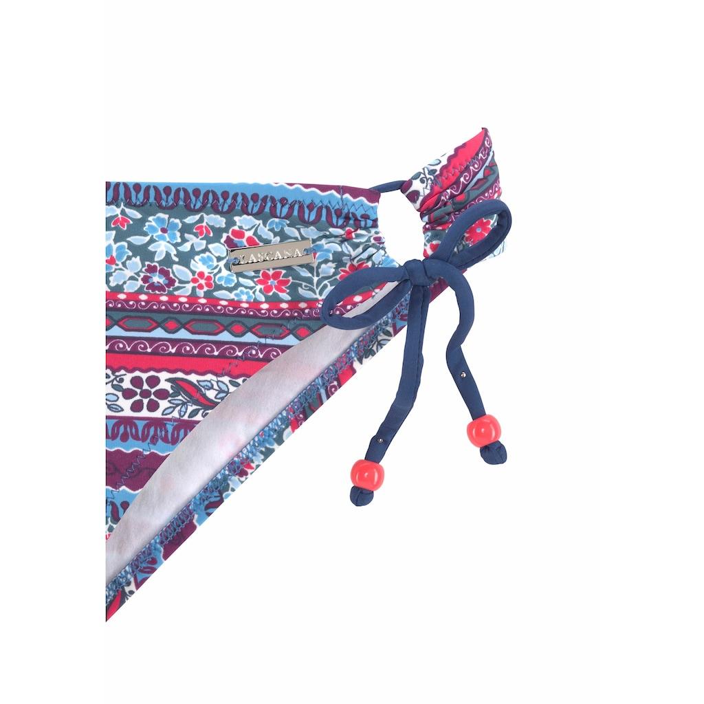 LASCANA Bandeau-Bikini, in schönem Floralprint