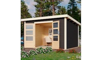 KARIBU Gartenhaus »Edersee 4«, BxT: 369x303 cm kaufen