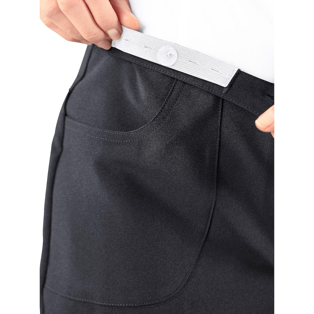 Classic Basics Bügelfaltenhose