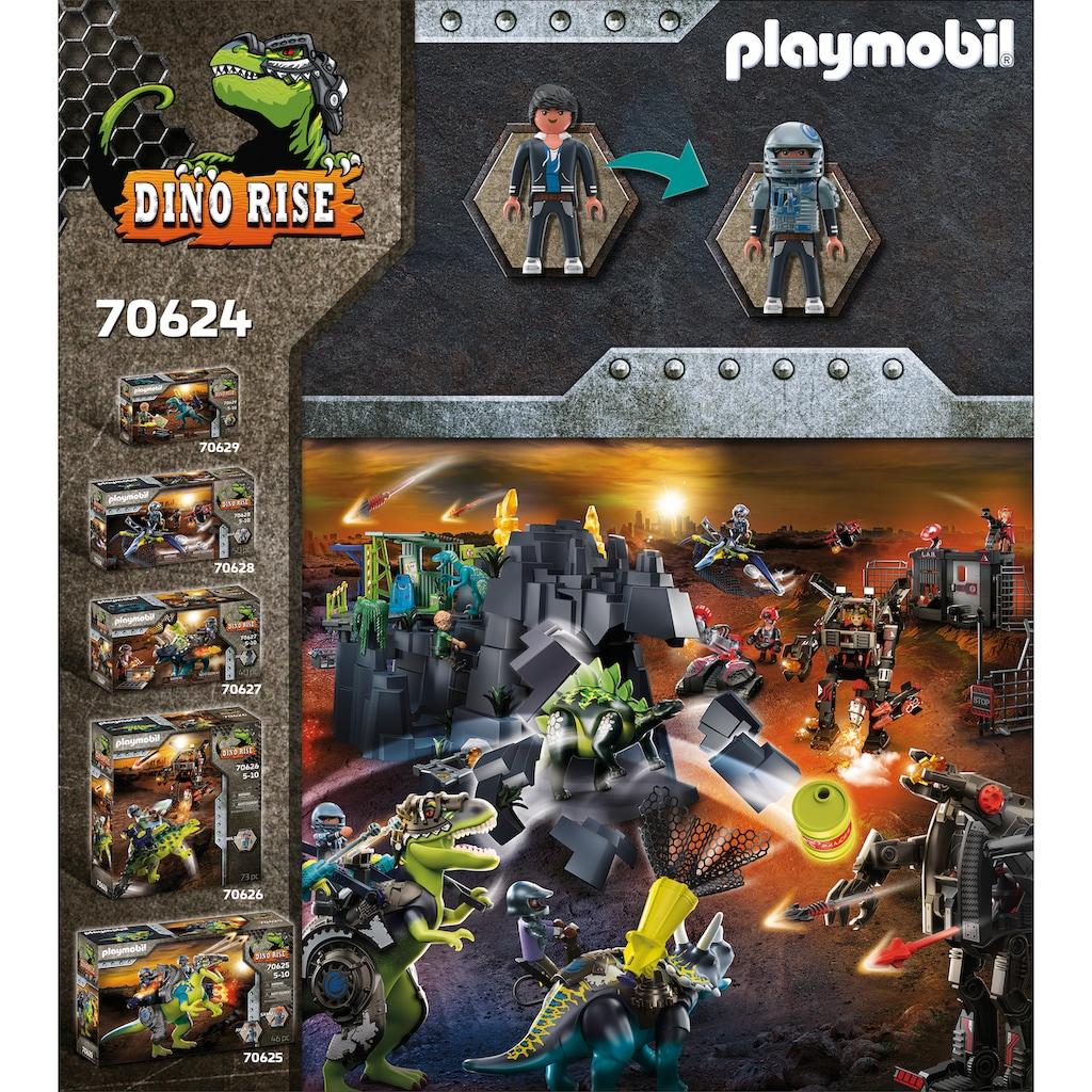Playmobil® Konstruktions-Spielset »T-Rex - Kampf der Giganten (70624), Dino Rise«, (84 St.), Made in Europe