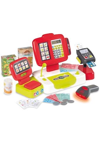 Smoby Spielkasse »Elektronische Supermarktkasse XL, Rot«, mit Licht- und... kaufen