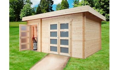 WOLFF FINNHAUS Gartenhaus »Nancy«, BxT: 504x347 cm, mit 2 Räumen kaufen