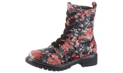 CITY WALK Schnürstiefelette, mit floralem Muster kaufen