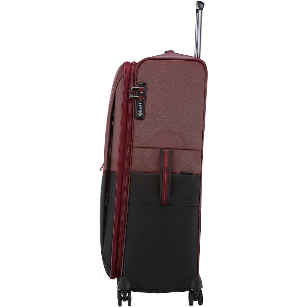 Samsonite Weichgepäck-Trolley »Rythum, 79 cm, burgundy«, 4 Rollen