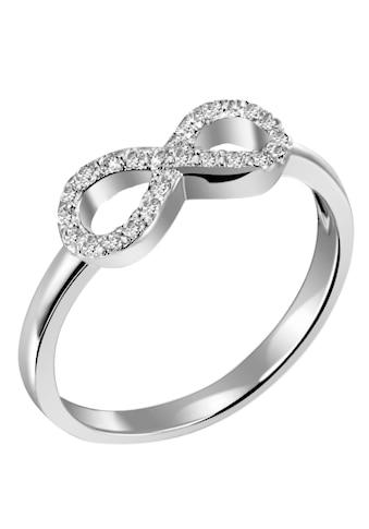 Firetti Silberring »Infinity/Unendlichkeit, rhodiniert«, mit Zirkonia kaufen