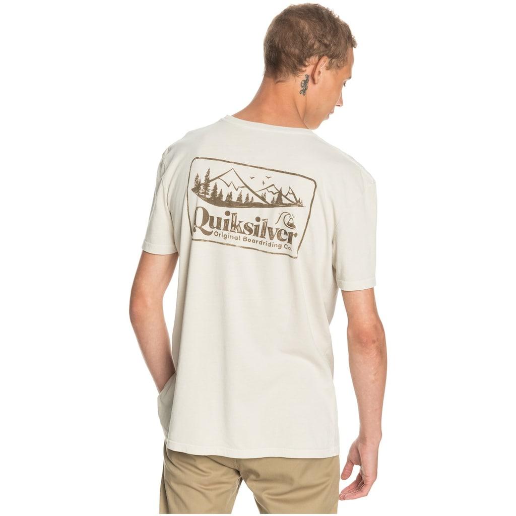 Quiksilver T-Shirt »Old Habit«
