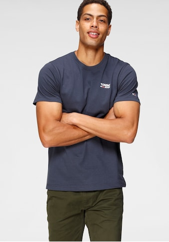 TOMMY JEANS T - Shirt »TJM REGULAR CORP LOGO C NECK« kaufen