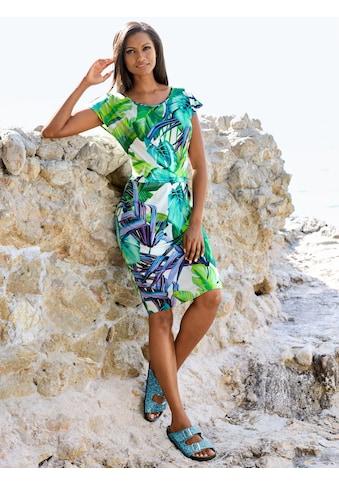 Alba Moda Strandkleid mit Raffung kaufen