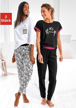 on sale f40a9 32e1b Pyjamas für Damen   Schlafanzüge online kaufen   BAUR