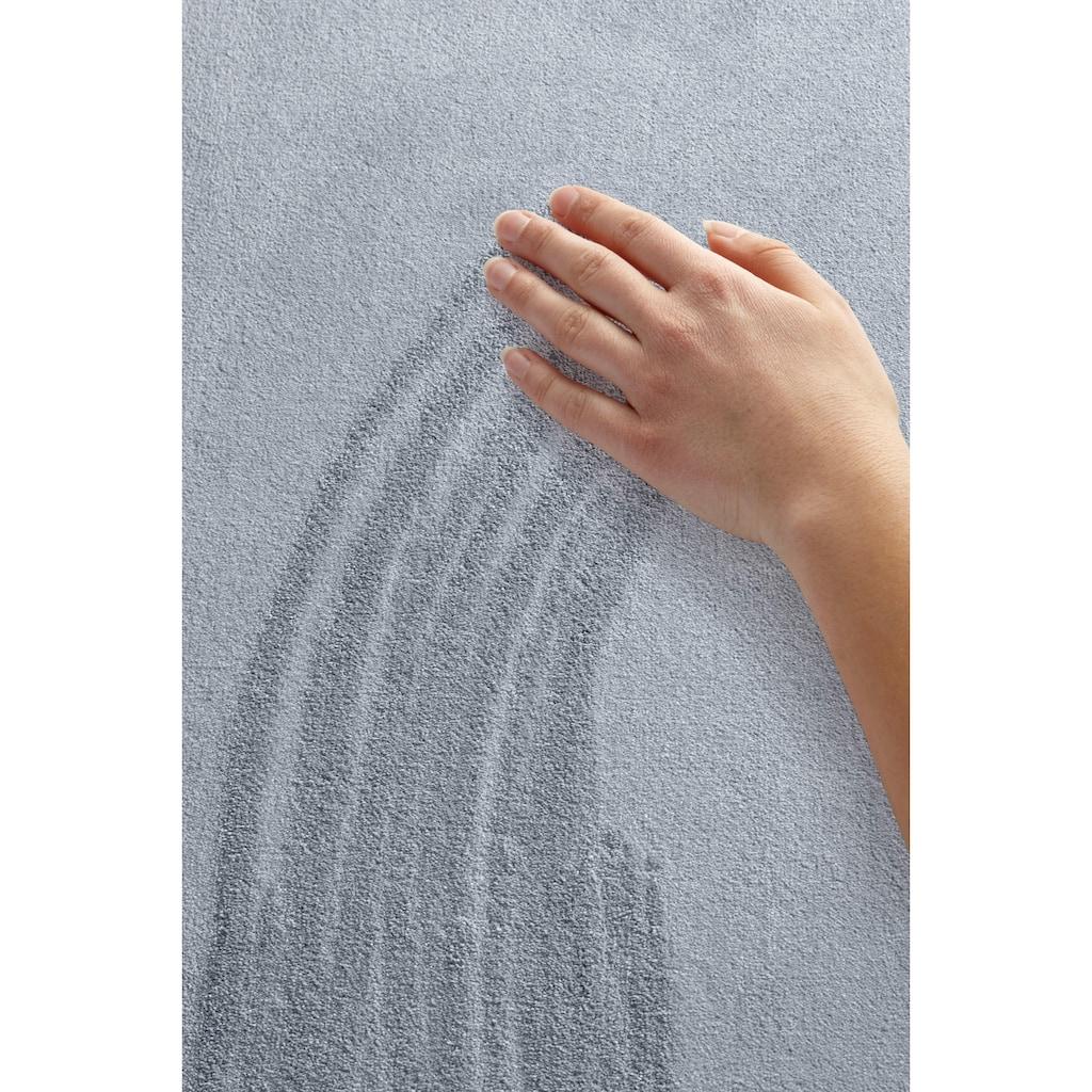 BT Carpet Läufer »Bare«, rechteckig, 10 mm Höhe, Kurzflor, besonders weich durch Microfaser