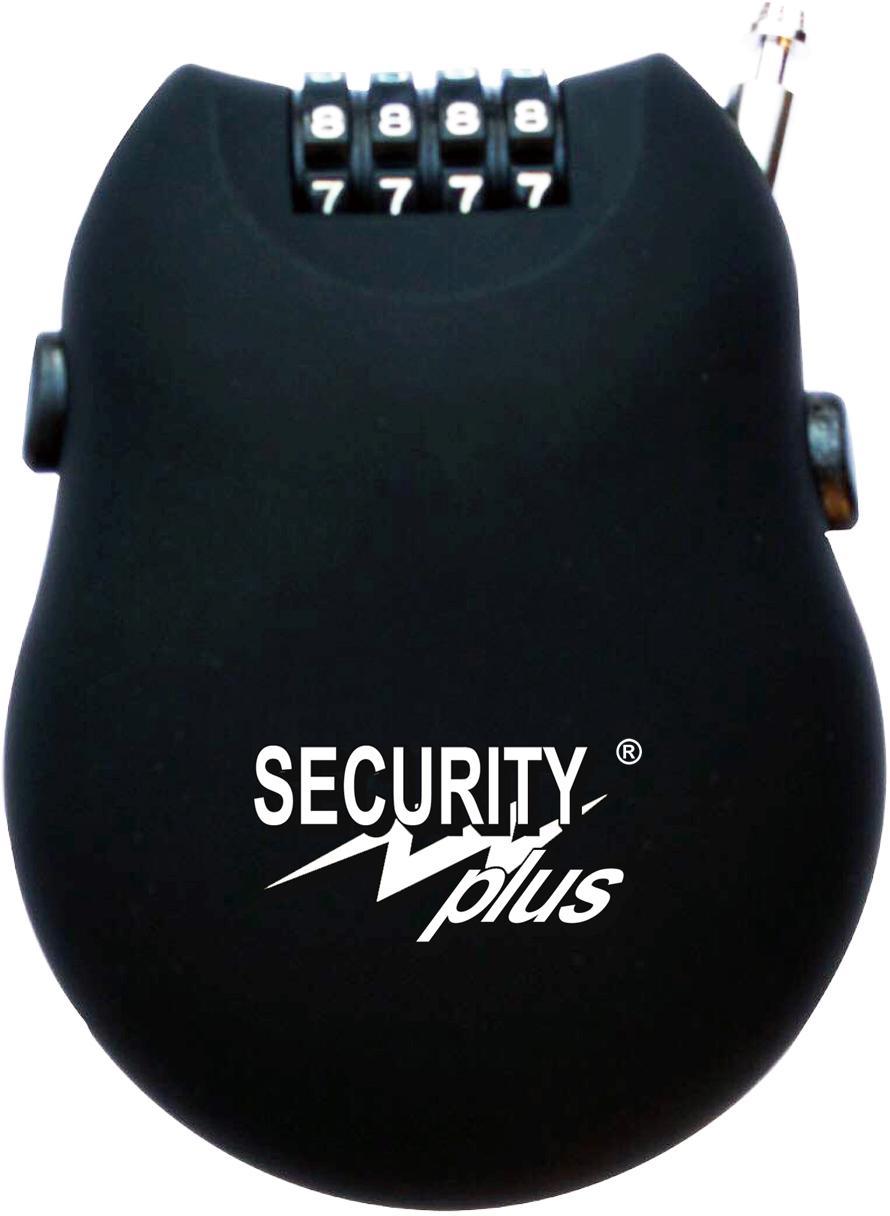 Security Plus Zahlenkabelschloss Security Plus RB76-2 Technik & Freizeit/Sport & Freizeit/Fahrräder & Zubehör/Fahrradzubehör/Fahrradschlösser/Zahlenschlösser
