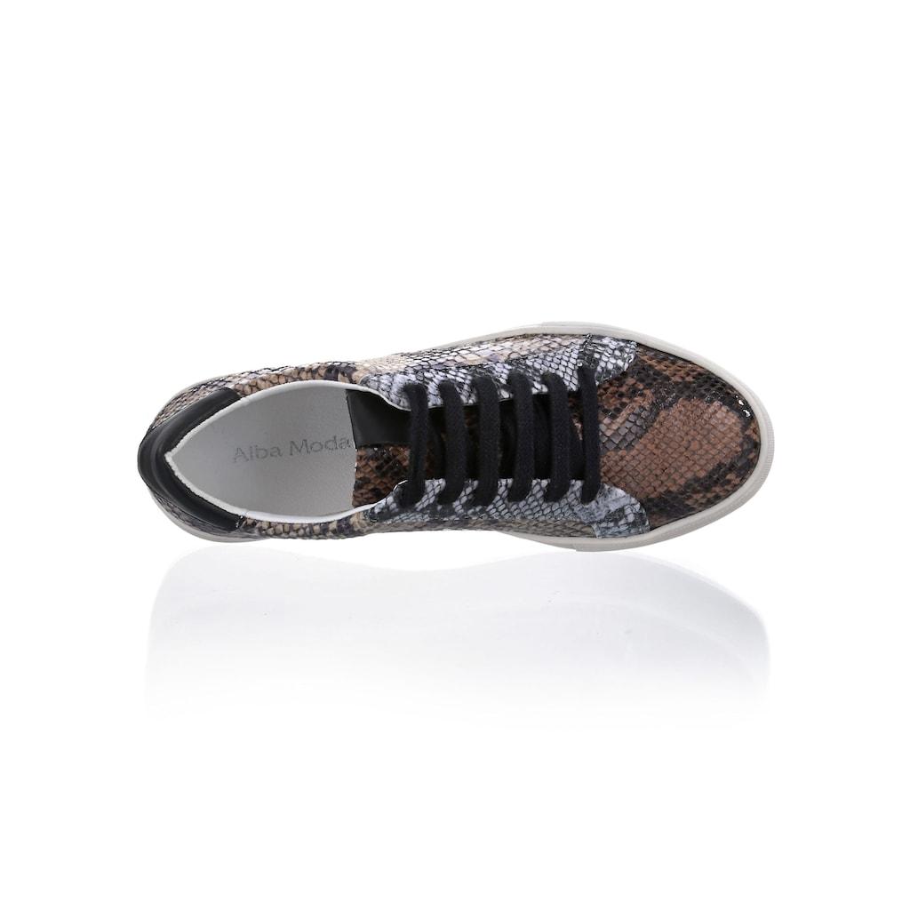 Alba Moda Sneaker, in allover Print