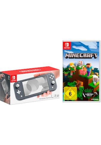 Nintendo Switch Konsole »Lite«, inkl. Minecraft kaufen