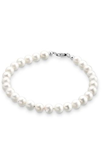 Elli Perlenarmband »Zeitlos aus Muschelkernperlen 925 Silber« kaufen