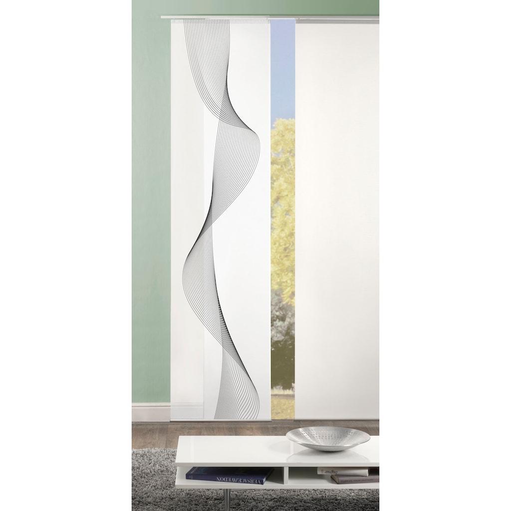 HOME WOHNIDEEN Schiebegardine »COLIBA«, HxB: 245x60, Dekostoff Digitaldruck