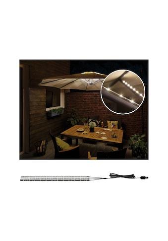 Paulmann LED-Lichterkette »Strip Parasol-Light Schirmbeleuchtung 4er-Set 4x40 cm«, 4 St.-flammig kaufen