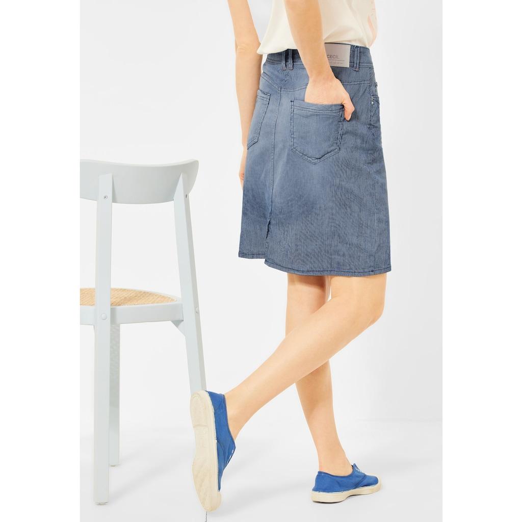 Cecil Minirock, 5-Pockets Style