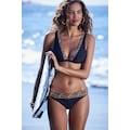 LASCANA Triangel-Bikini-Top »Adele«, mit trendigen Details