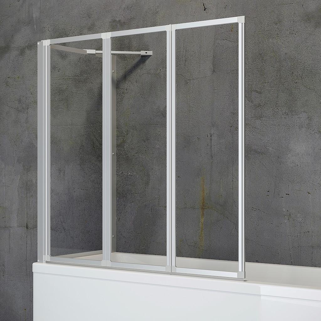 Schulte Badewannenaufsatz »Komfort«, BxHxT: 127 x 121 x 70 cm, zum Kleben oder Bohren