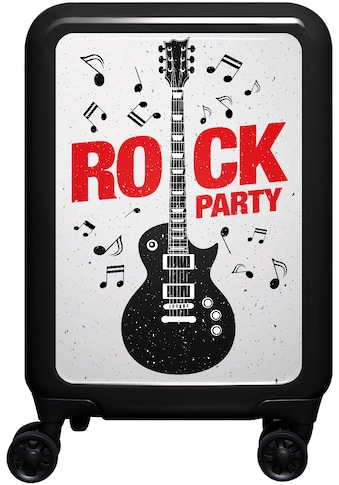 meinTrolley Hartschalen-Trolley »Rockparty, 77 cm«, 4 Rollen, Made in Germany kaufen