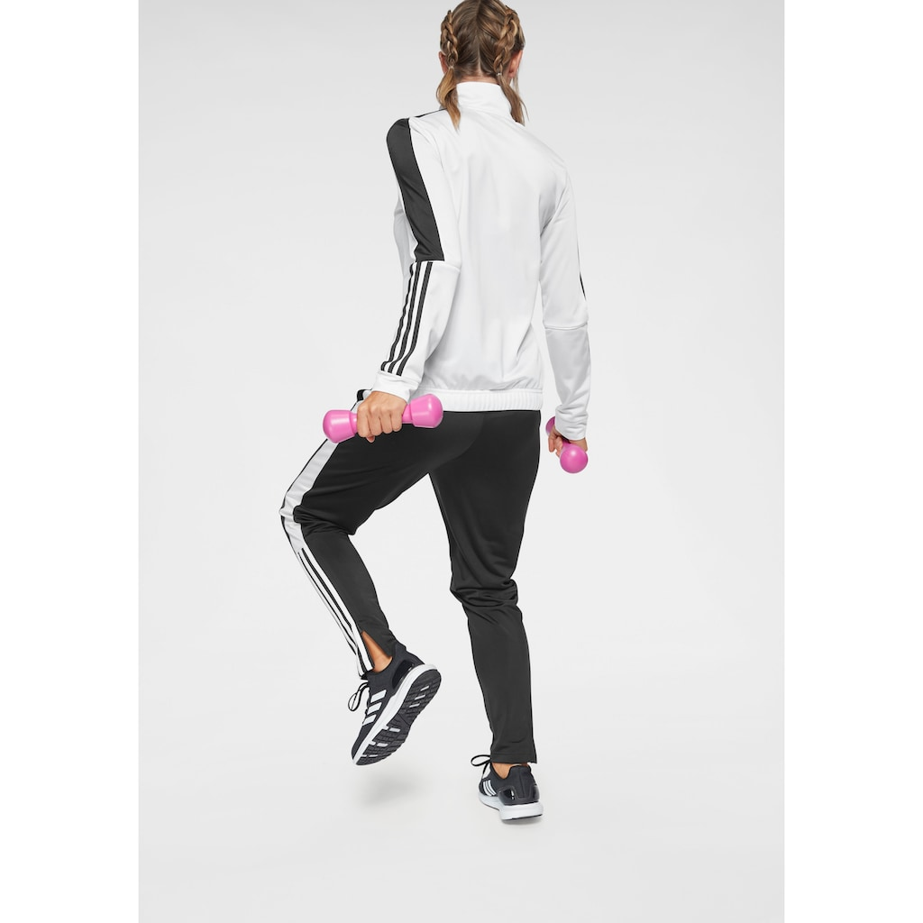adidas Performance Trainingsanzug »OSR W PES 3 STRIPES TRACKSUIT«