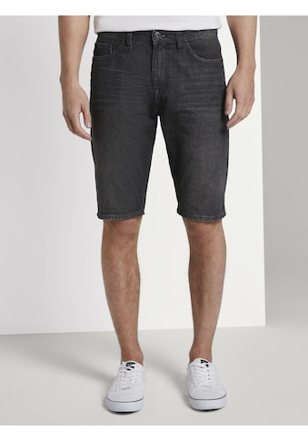 TOM TAILOR Slim - fit - Jeans »Josh Regular Slim Jeans - Shorts in Vintage - Waschung« kaufen
