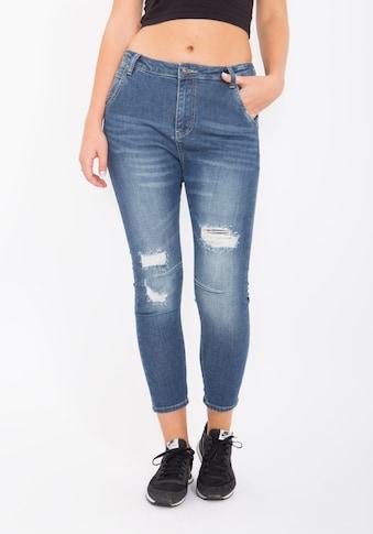 Blue Monkey Boyfriend - Jeans »Celine 1088« kaufen