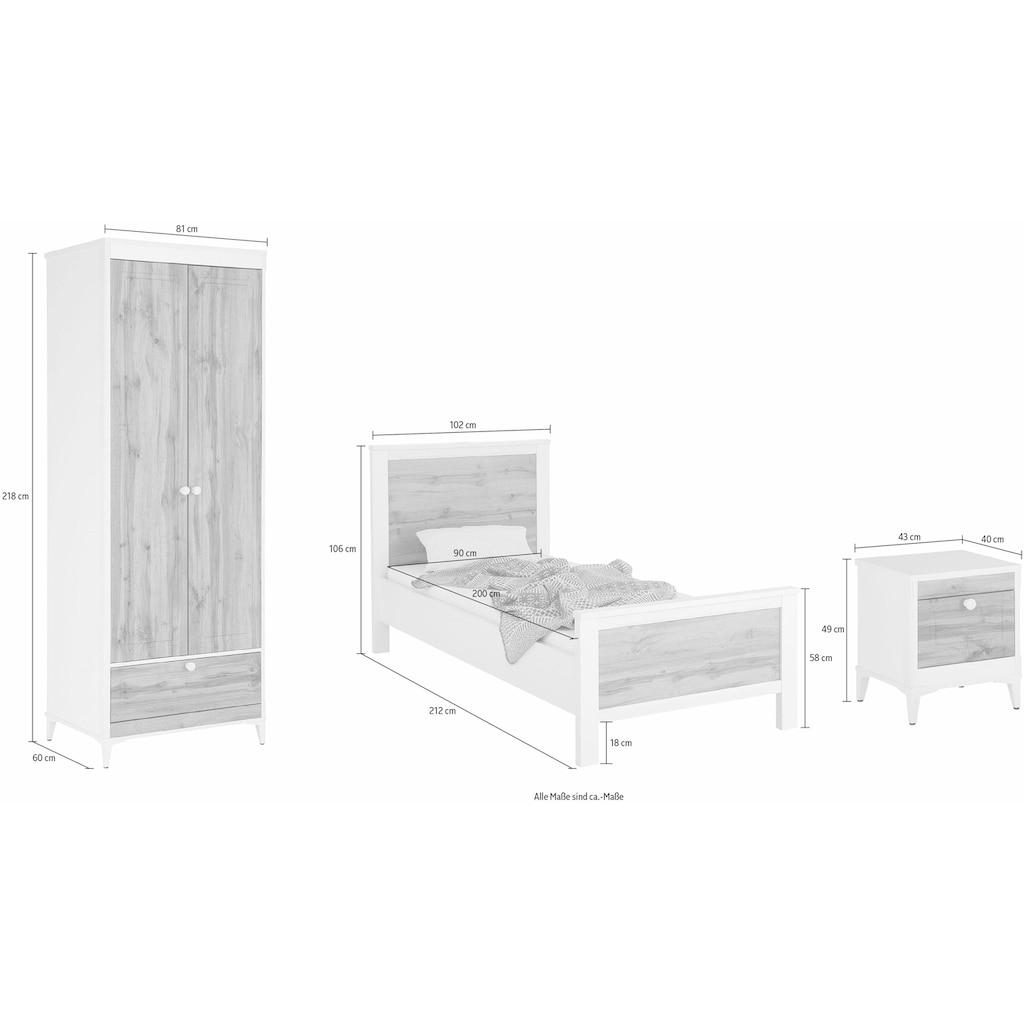 Home affaire Schlafzimmer-Set »Kjell« (Set, 3-tlg)