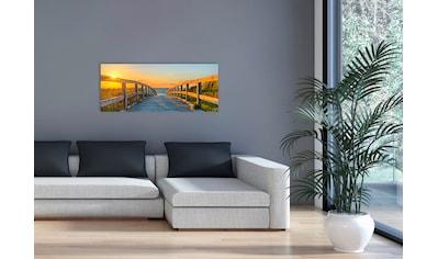 """Marmony Infrarotwandheizung »MOTIV-Heizkörper """"Footbridge"""", 800 Watt«, aus deutschem... kaufen"""