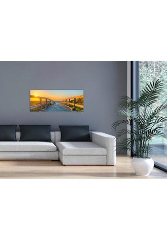"Marmony Infrarotwandheizung »MOTIV-Heizkörper ""Footbridge"", 800 Watt«, trocknet Wände... kaufen"