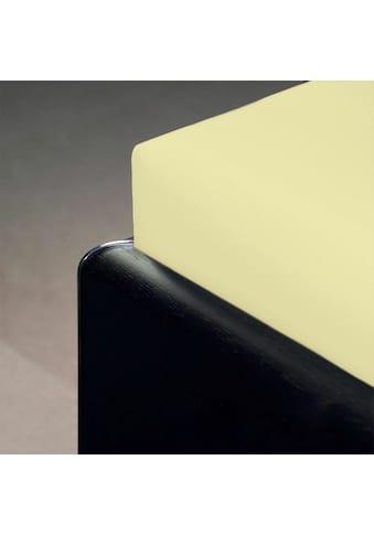 BETTWARENSHOP Spannbettlaken »Objekt Spannbettlaken«, koch- und chlorfeste Qualität kaufen