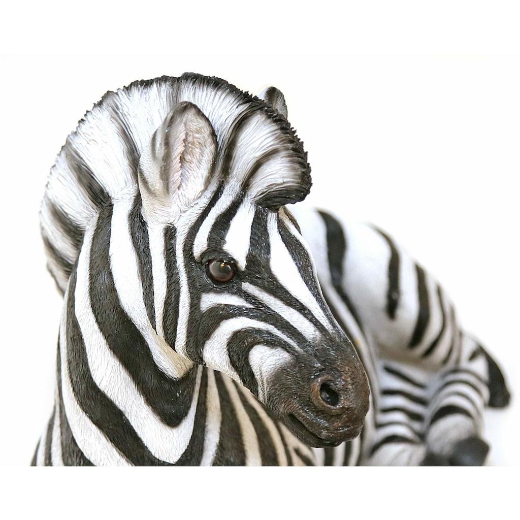 Casa Collection by Jänig Tierfigur »Zebra liegend, Breite: 42,5cm«