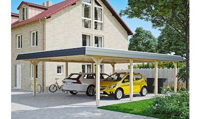 SKANHOLZ Doppelcarport »Wendland«, BxT: 630x879 cm kaufen