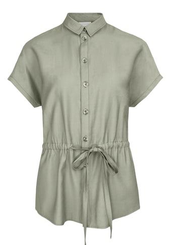 bianca Kurzarmbluse »FARIN«, im lässigen Hemdblusen-Style mit Bindegürtel kaufen