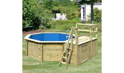 Karibu Achteckpool »Holzpool Gr. 1 Set C« kaufen