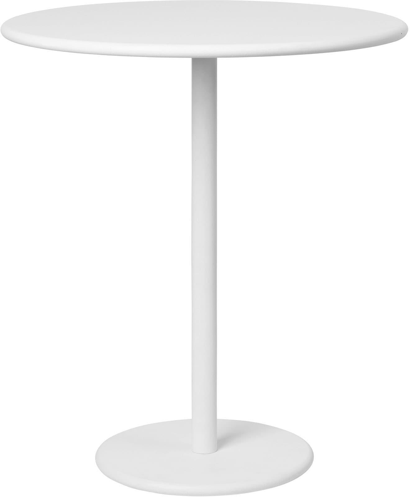 BLOMUS Beistelltisch Garten -STAY- White weiß Beistelltische Tische