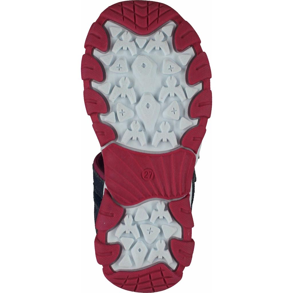 Bama Riemchensandalette »Leder/Textil«