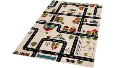 Kinderteppich, »Big City«, Zala Living, rechteckig, Höhe 9 mm, maschinell gewebt kaufen